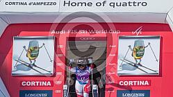 Ski World Cup DH Cortina 2016
